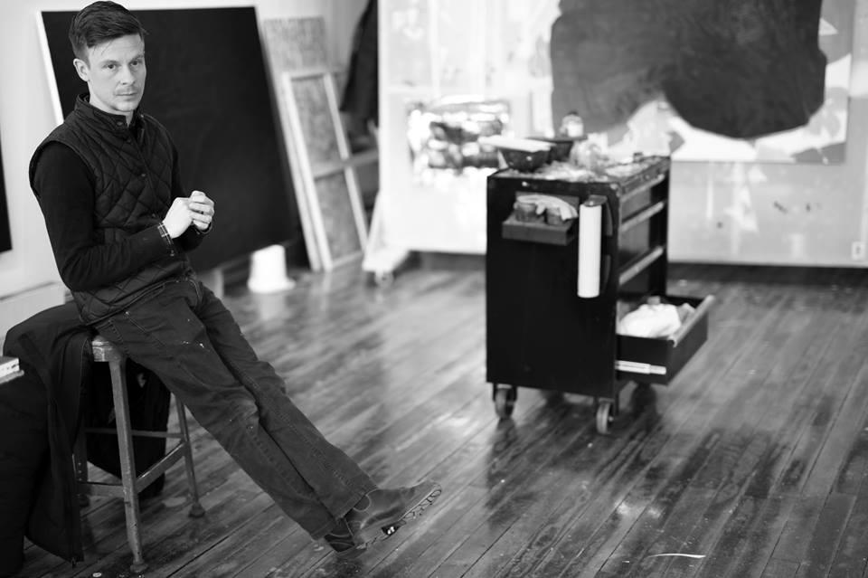Daniel Hutchinson in studio