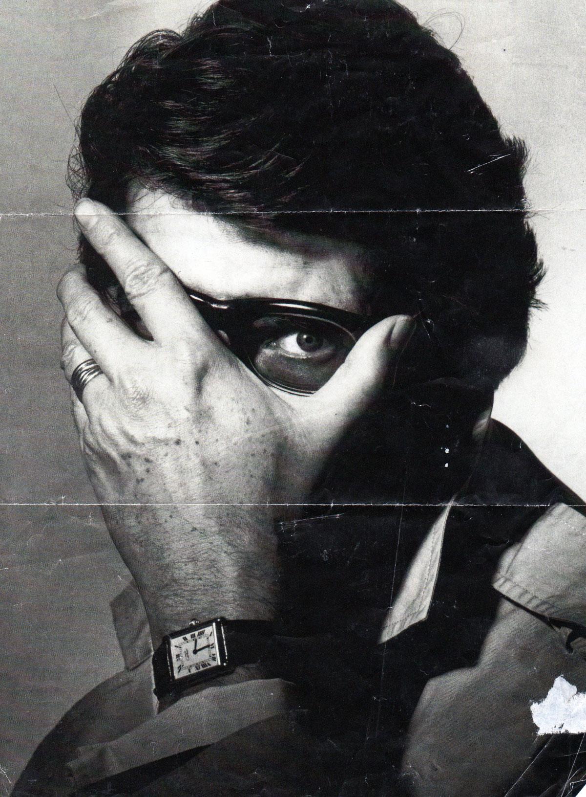 Yves Saint Laurent by Irving Penn