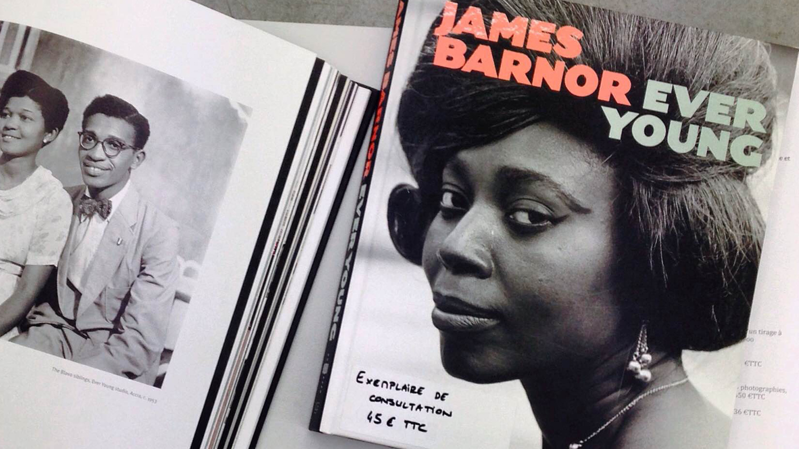 Ever Young book, James Barnor