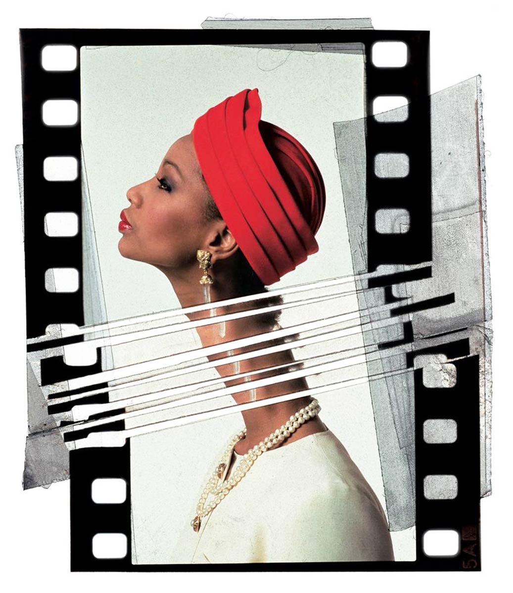 Mounia for Saint Laurent (1985), Jean-Paul Goude