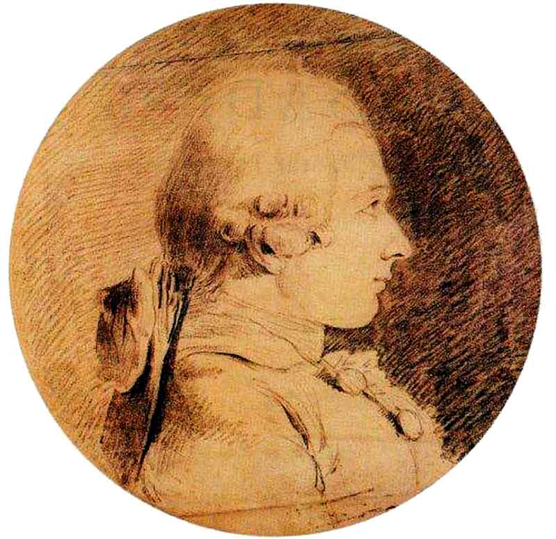 Portrait of the Marquis de Sade, 1760.