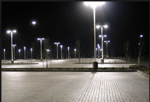 parking lot light repair