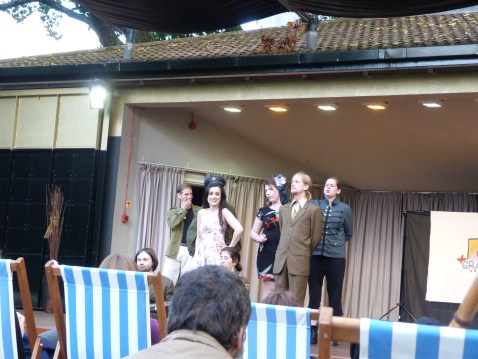 Charing cross open air theatre