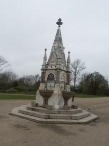 Fountain Regent's Park