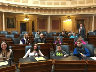 Dave and Fams in Chamber