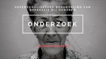 Leids onderzoek: Op weg naar gepersonaliseerde behandeling van depressie in ouderen