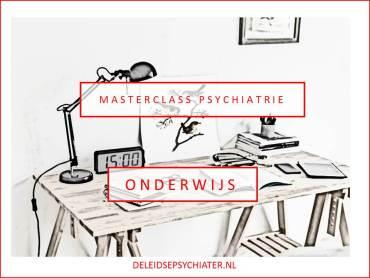 Masterclass psychiatrie