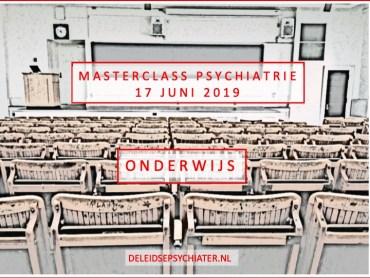 Masterclass Psychiatrie. Meld je nu aan!