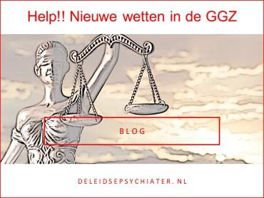 Help! Nieuwe wetten in de GGZ