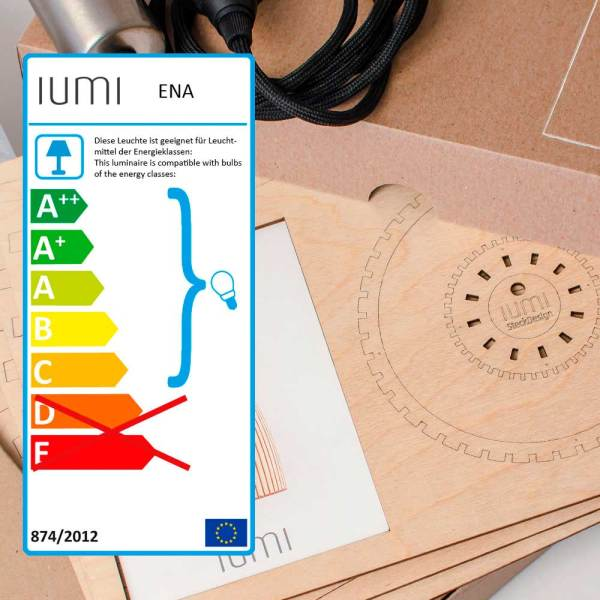 Kit montaje de lampara Ena de IUMI