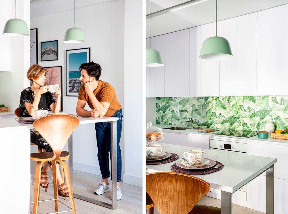 diseño de una cocina a medida
