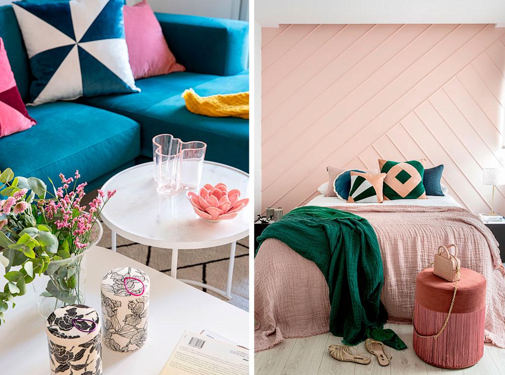 diseño de interiores y decoracion de un dormitorio