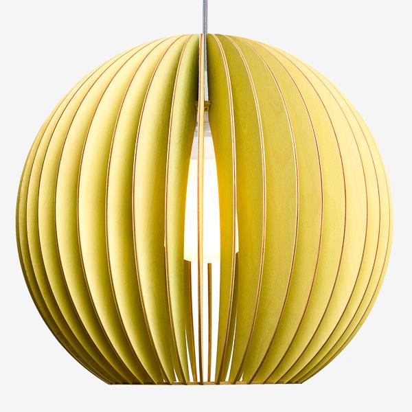 Lámpara Aion de Iumi verde