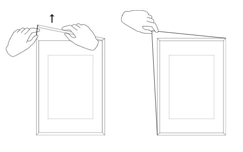 Cómo abrir un marco de moebe
