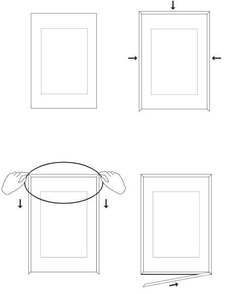 Cómo cerrar marco de Moebe