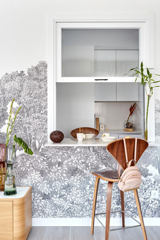 Un apartamento muy personal en Madrid