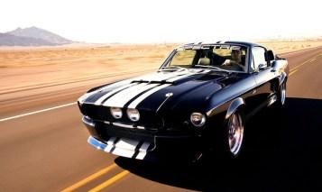 1967 Shelby GT500 - Classic Recreation 900S … Eleanor, la vraie !3:4avant