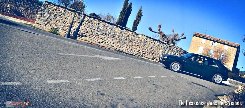 #30Lancia Delta HF Integrale Evo1 WRC VerdeYorkprofil