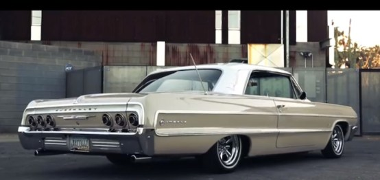 Impala LowRider arrière