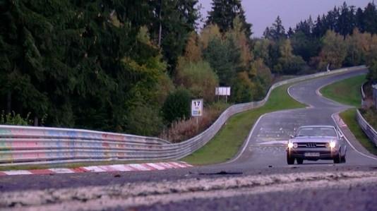 Audi Nurb 100 piste