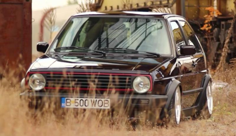 Golf II BBS Air Ride