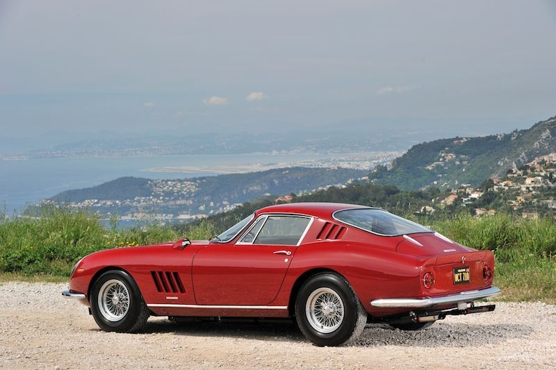 Steve McQueen Ferrari 275 GTB4 Side (photo: Tim Scott)