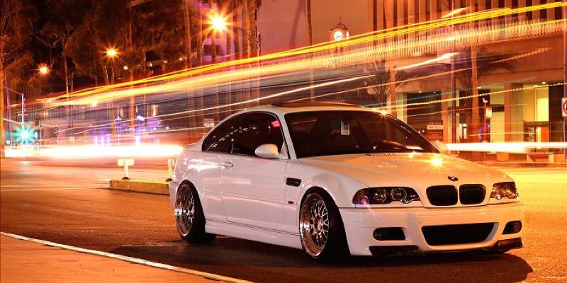 DLEDMV BMW M3 E46 Snow White 01