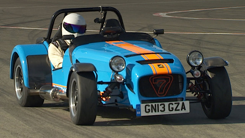 DLEDMV Caterham 620R The Stig02