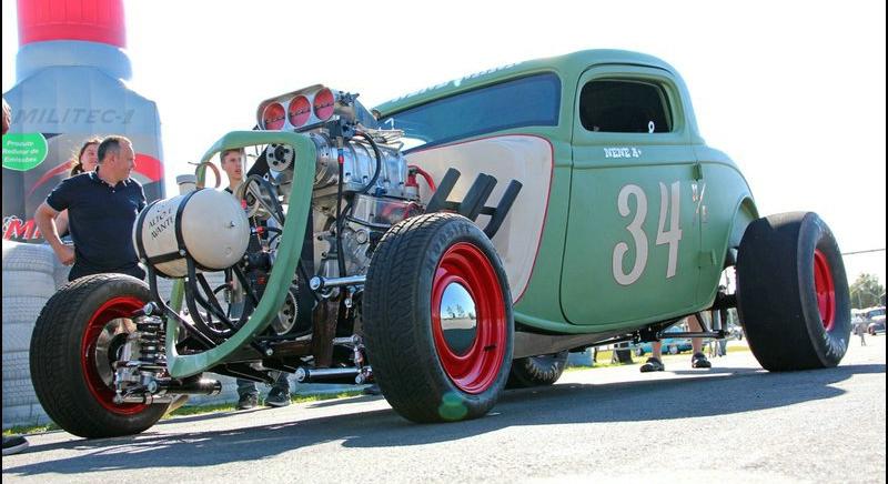DLEDMV Ford 34 Burn Out NHRA nene06