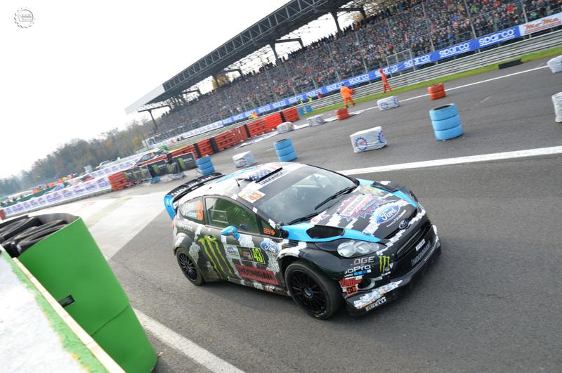 Monza Rally Show #14 : Block et Rossi font le show... De l ...