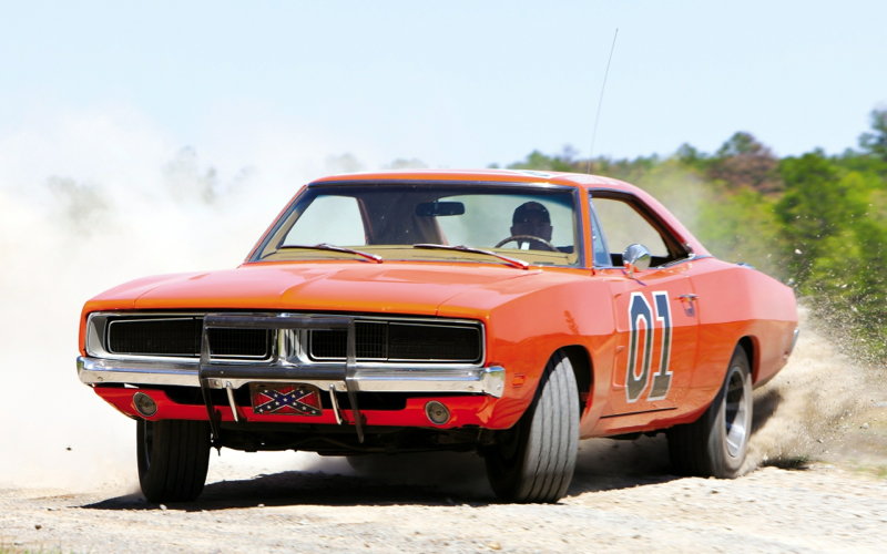 DLEDMV Charger General Lee vs Firebird Bandit 003