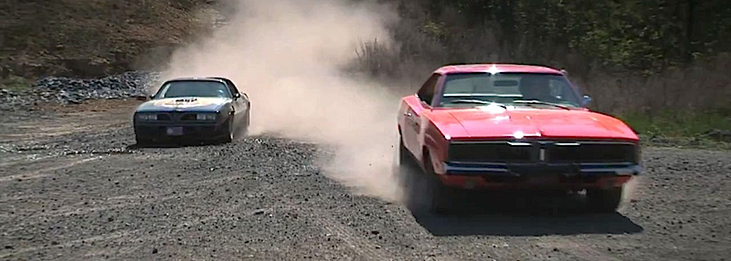DLEDMV Charger General Lee vs Firebird Bandit 004