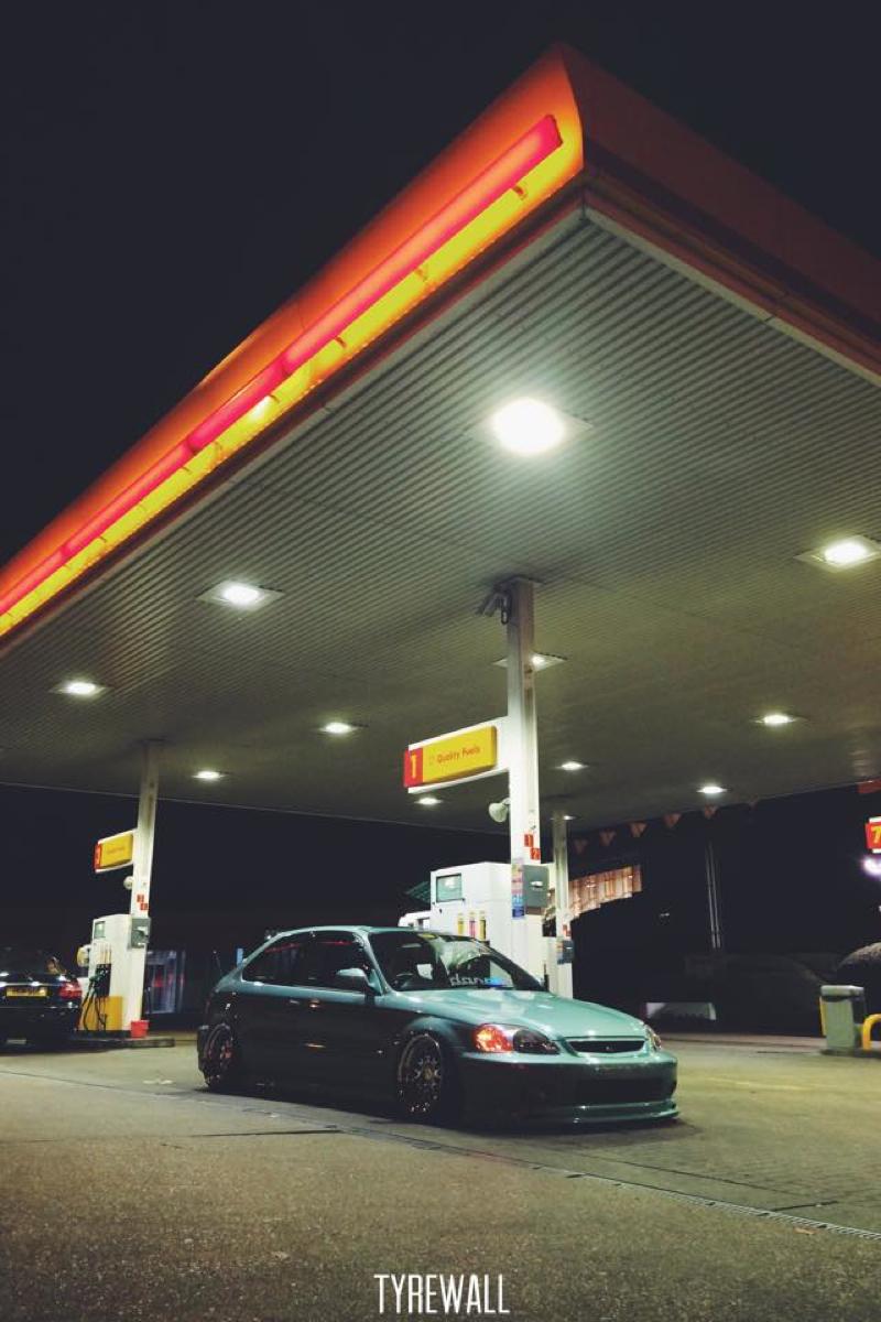 DLEDMV Honda Civic EK slammed CCW 006