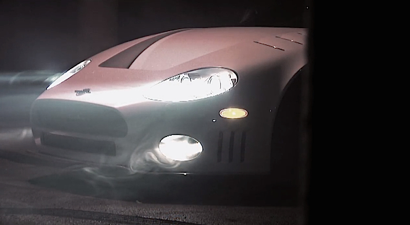 DLEDMV Spyker C8 Burnout 002