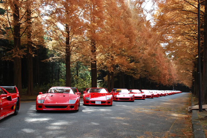 DLEDMV Ferrari F40 reveil & tunnel japan 004