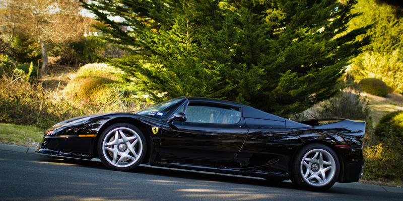 DLEDMV Ferrari F50 engine sound in NYC 02