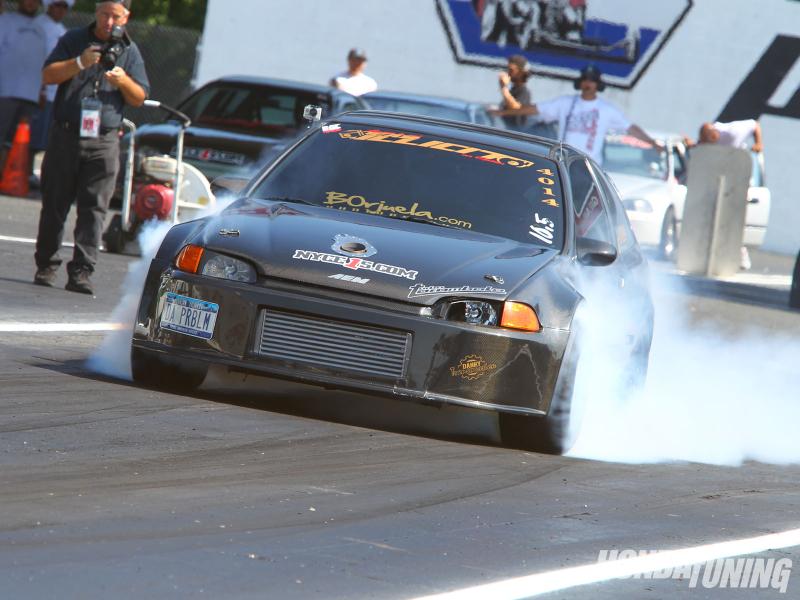 DLEDMV Honda Drag Turbo & flams 06