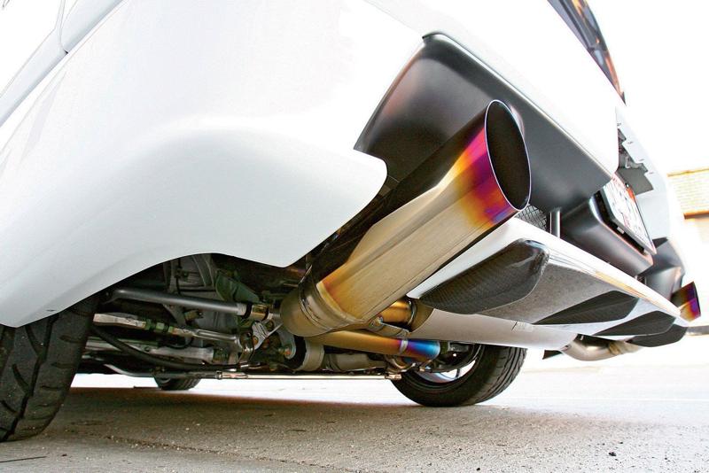 DLEDMV Honda NSX Exhaust Power test 05