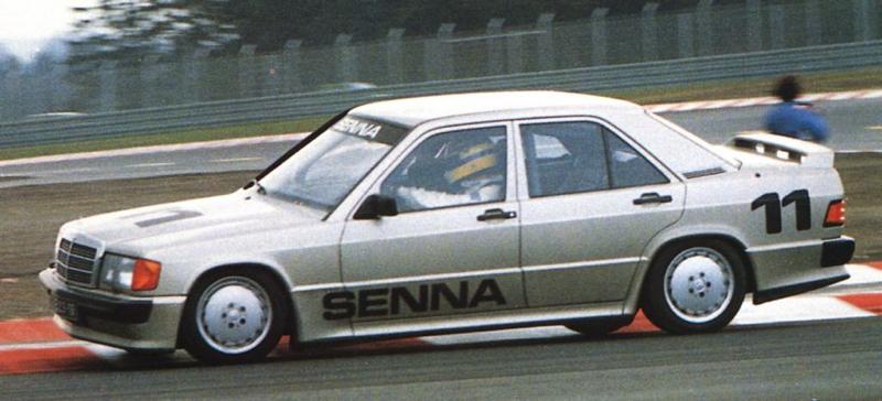 DLEDMV Mercedes 190 2,3 16 race 84 002