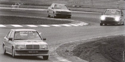 DLEDMV Mercedes 190 2,3 16 race 84 008