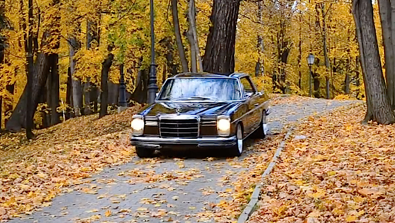 DLEDMV Mercedes W114 black coupé sleeper 01