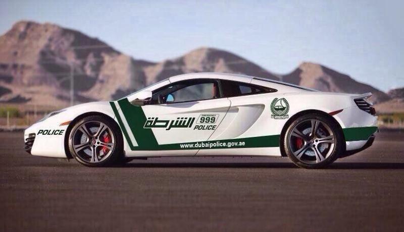 DLEDMV Police Dubai Supercars 02