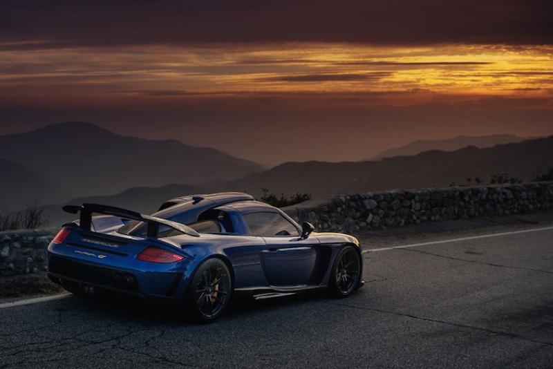 DLEDMV Porsche Carrera GT Gemballa Mirage HRE 06
