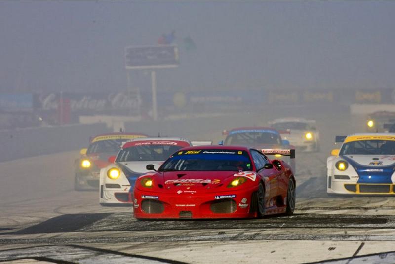 DLEDMV ALMS Finish GT2 12h Sebring 04