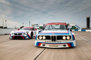 DLEDMV BMW Z4 GTLM & 3.0 CSL Sebring 12