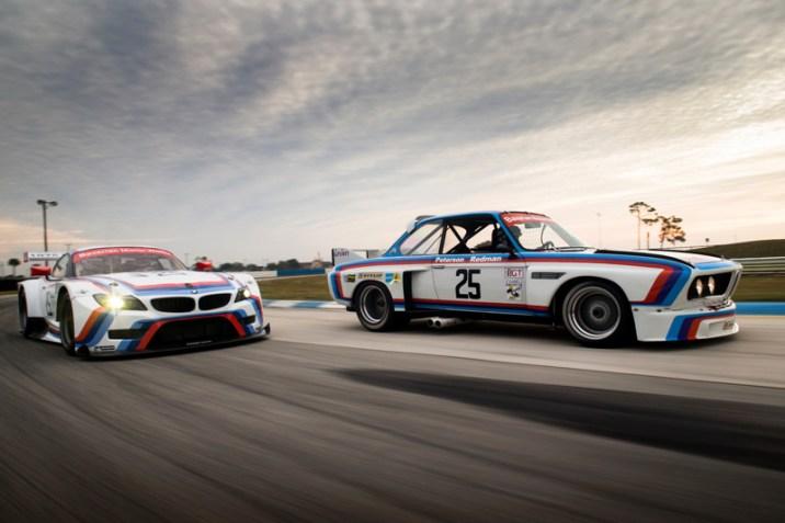 DLEDMV BMW Z4 GTLM & 3.0 CSL Sebring 14
