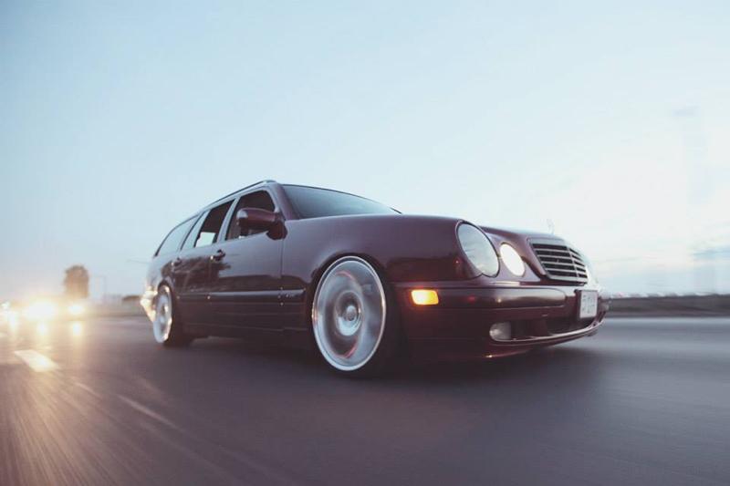DLEDMV Mercedes S210 Bagged & Brabus 07