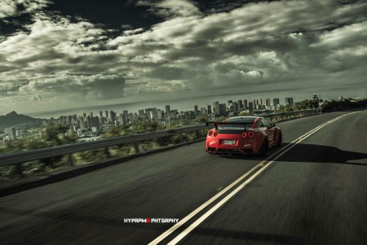 DLEDMV Nissan GTR LB Walk Hawai 07