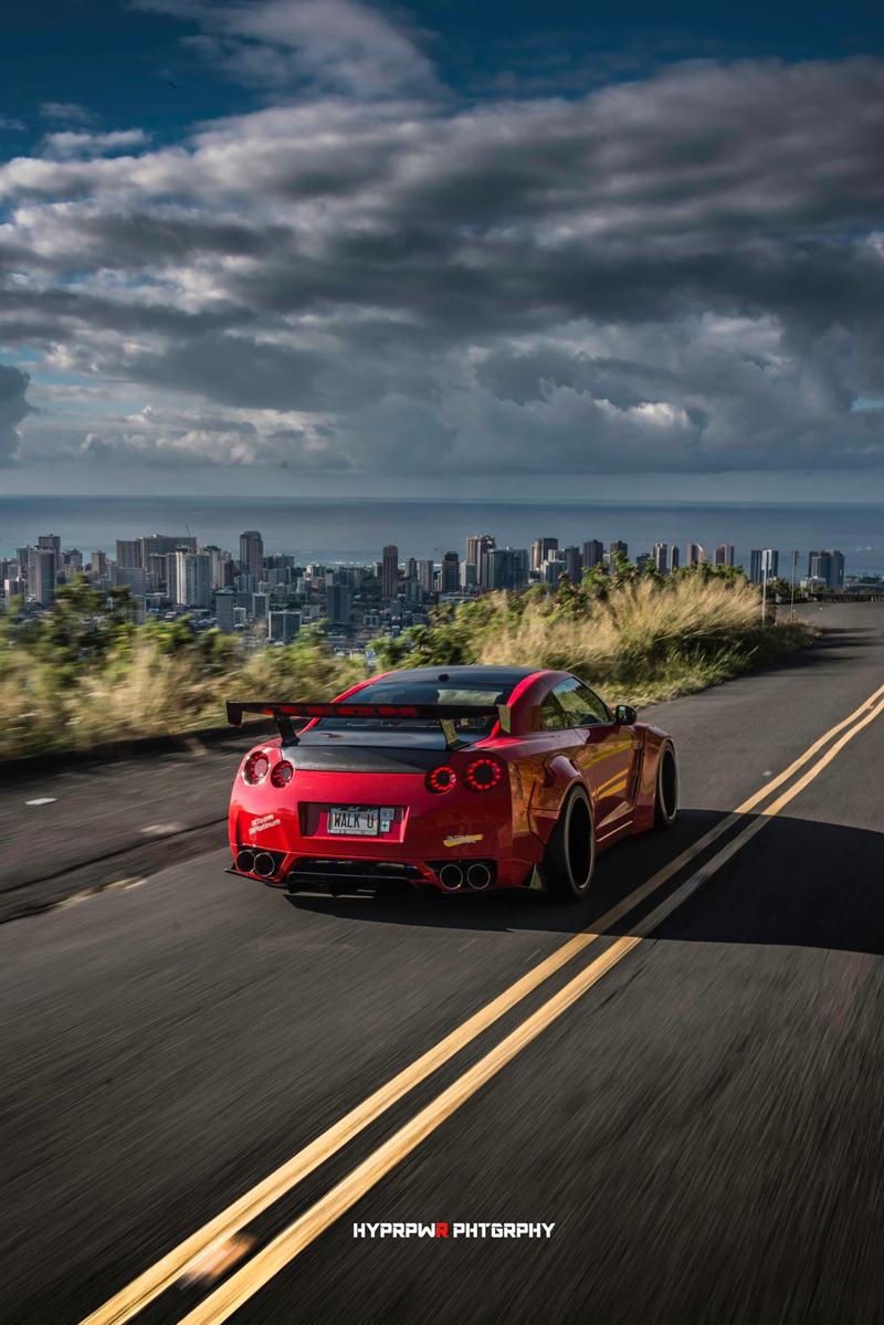 DLEDMV Nissan GTR LB Walk Hawai 13