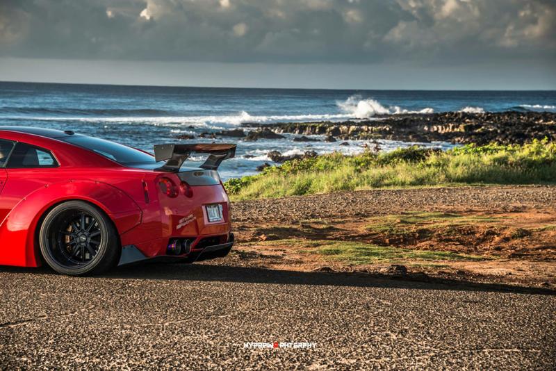 DLEDMV Nissan GTR LB Walk Hawai 16